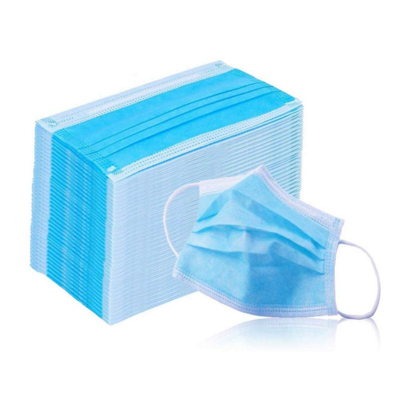20 / 50 / 100pcs Disposable Mask, Three-layer Mask, Dust-proof And Breathable Surgical Mask