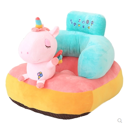 Kids Sofa Chair Cartoon Baby Learn To Sit Baby Sofa Kindergarten Fluffy Tatami Fall Proof Removable Divano Bambino