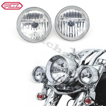 Motorcycle Accessories Street Bike Diamond Cut Ice Auxiliary Passing Lamp Driving Spot Fog Lights for Harley