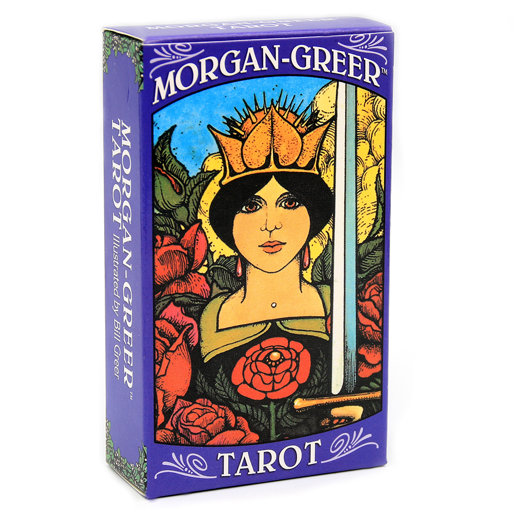Morgan Greer Tarot Deck English Cards PDF Guidebook create an emotional reaction to each card even before the image