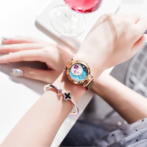 Image 2 - Crystal 2019 Fashion Women Watch Luxury Ladies Watches reloj mujer Female Quartz Wristwatch Full Rhinestone Waterproof Clock