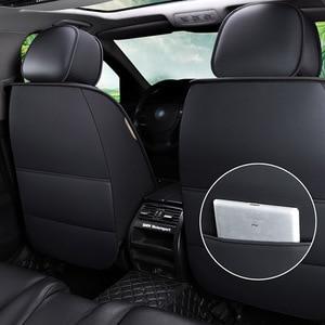 1 шт. кожаный чехол для автомобильного сиденья для ford focus mk1 focus 2 3 mondeo mk4 fiesta mk7 figo ranger edge fusion 2015 kuga аксессуары