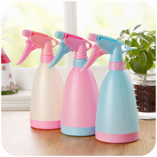 Flower Watering Bottle Fine Spray Strong Water Column Household Cleaning Misting Sprayer Garden Home Plant Watering Can 1Pc smith chu hairdressing spray bottles two kind of colors can choose sprayer flower plant watering can barber water bottle