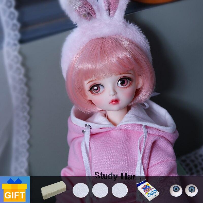 BJD Doll Shuga Fairy Muki 1/6 Dolls Beautiful Dress Fullset Resin Toys for Kids Surprise Gifts for Girls Boys 26cm Dolls