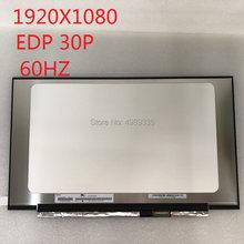 Tela lcd 1920x1080 edp30p da tela 15.6 do caderno do lcd de N156HCE-EN1 polegadas