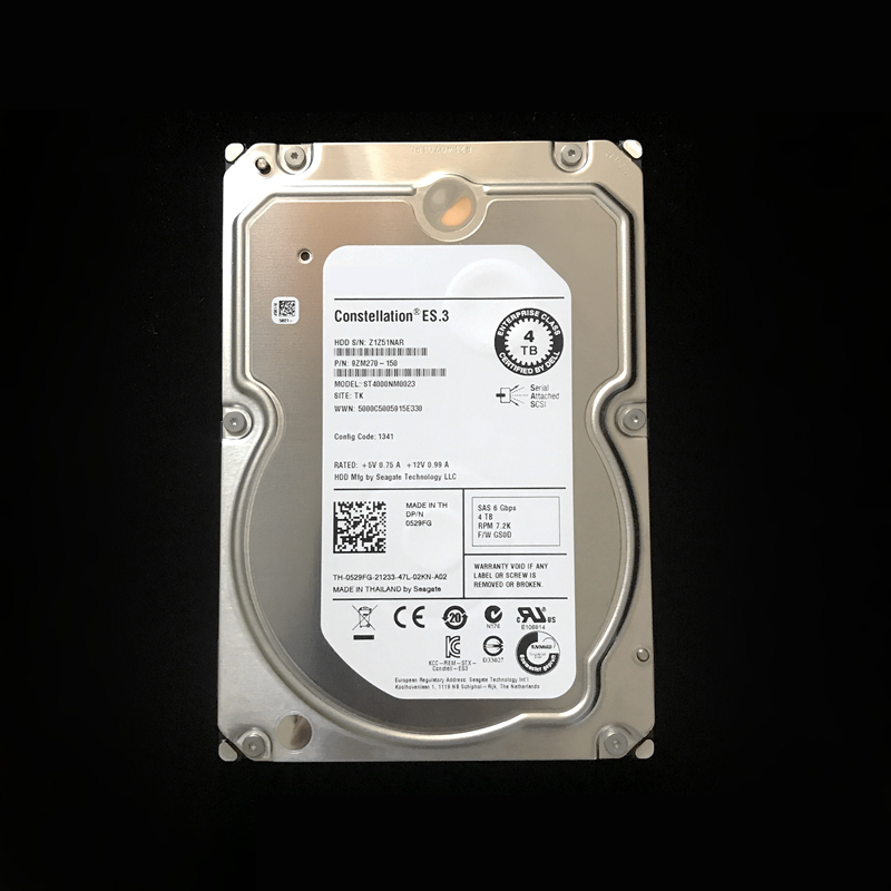 """New HDD For Seagate/Dell Brand 4TB 3.5"""" SAS 6 Gb/s 128MB 7200RPM For Internal HDD For Enterprise Class HDD For ST4000NM0023 2"""
