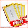 Литий-полимерный аккумулятор 3,7, 8000 в, 126090 мАч, печатная плата 7566121 для планшетного ПК, DVD, GPS, MID, PDA, Bluetooth-динамик, цифровая камера светодиодный ...