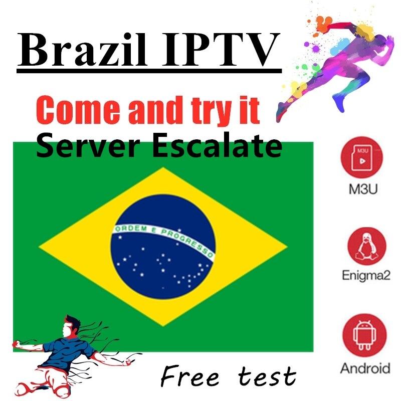 IPTV Brazil Subscription Channels List For Tv Box M3u 2000 + In Vod Chile Iptv