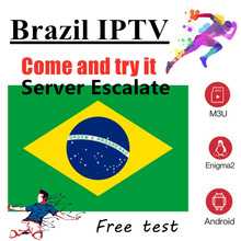 IPTV Brazil subscription channels List for Tv box M3u 2000 + in Vod Chile Iptv(China)