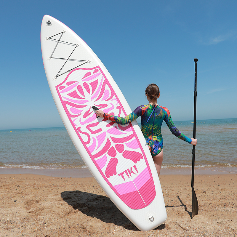 Inflatable Stand Up Paddle Board Sup-Board Surfboard Kayak Surf Set 10'6