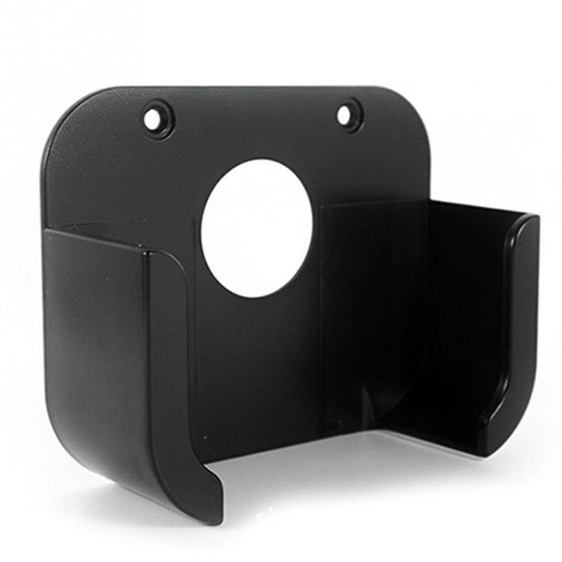98 * 33mm Plastic Square Media Player TV Box player bracket Wall Mount Bracket Holder Case For Apple 4