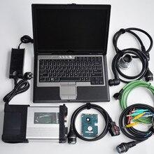 BESTE MB Star C5 SD Verbinden met Laptop D630 met HDD/SSD volledige SD C5 software 2019.12 xentry/ das/dts v8.14/vediamo 5.1/epc/wis