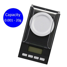 0.001g Digital Counting Carat Scale 10g 20g 50g Precision Portable Electronic Jewelry Scales Gold Medicinal Balance