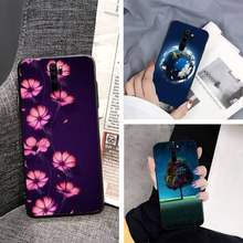 Illustration Bling Cute Phone Case For Redmi 7 7A S2 8 8Lite 10 10Lite 5Plus Note9 9Pro 9Promax Case(China)