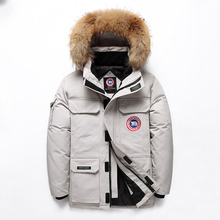 2019 Man Winter Jaket Down Parka Jacket Mens Coats Overcoat Clothes Imported Goose Extreme Weather Outerwear
