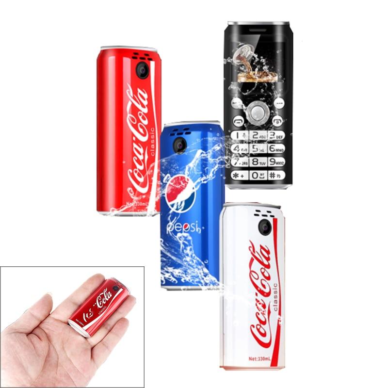 Симпатичные карманные мини-мобильные телефоны SATREND K8/X8 1,0 дюймов, телефон-кола, MP3, Bluetooth, номеронабиратель, запись вызовов, маленький сотовый ...