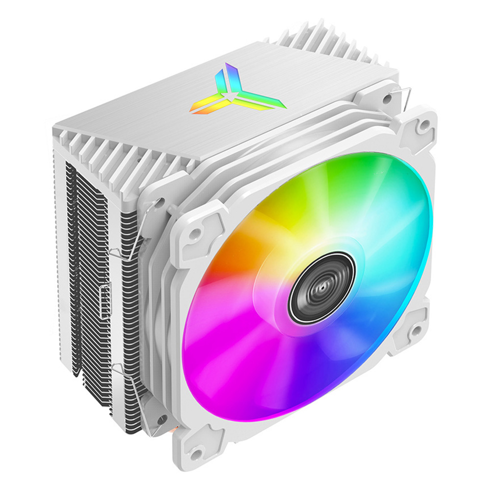 120mm PWM 12V Silent 4Pin Desktop PC LED Fan Computer Air Cooling 4 Heat-pipes CPU Cooler Radiator for LGA/1151/1155/AM3/AM4 image