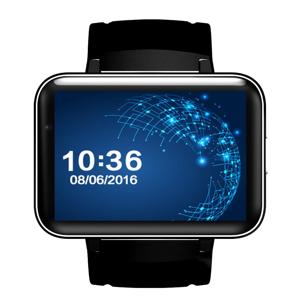 Smartch DM98 montre intelligente Android grand écran 320*240 MTK double noyau 1.2G 900mAh avec WIFI 3G GPS Smartwatch pour Android IOS - 6