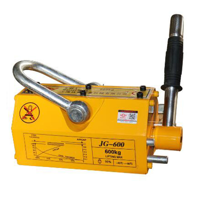 600kg Electromagnet Jack Magnetic Crane Lifter Electromagnet Suction Cup Strong Industrial Iron YS-600