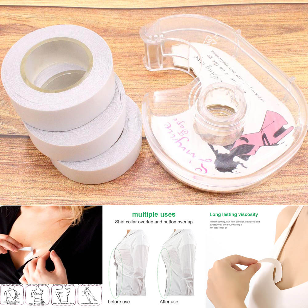 Underwear Strap Anti-slip Double Sided Tape Clothing Adhesive For Women Body Skin HSJ88