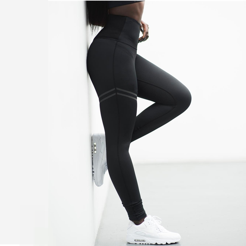 Gym Leggings Fitness Women High Waist Sports Pants Workout Leggings Running Tights Athletic Running Pants Active Sportswear S-XL
