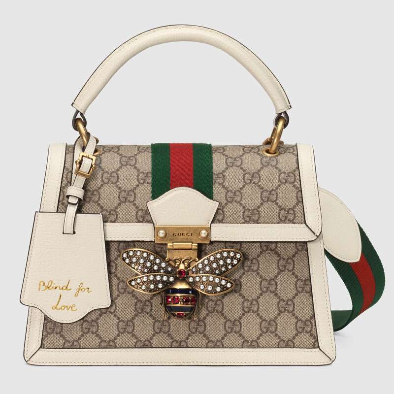Gucci Queen Margaret Small GG Top Handle Bag 476541 9I6ST 9753 Rossbody Bag Shoulder Bag Lady Classic Style Hand Bags