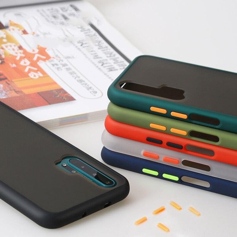 Чехол для Huawei Honor 20 Pro, мягкий жесткий чехол-накладка, тонкий матовый чехол для телефона Huawei Honor 20s 20 Lite, оболочка