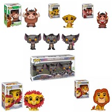 FUNKO POP Disney Cartoon Movie The Lion King Simba Banzai Shenzi & ED Vinyl Action Figure Collected Model toys for Children Gift(China)