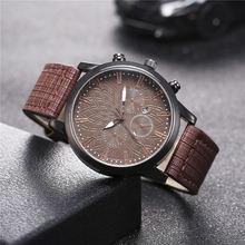 Мужские кварцевые часы в стиле ретро винтажные модные деловые