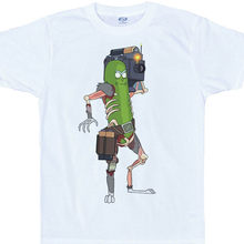 Pickle Rick T Shirt, Rick and Morty Men O-Neck Tshirt Short Sleeve Print Casual Breaking Bad Print 100% Cotton T Shirt For Men(China)