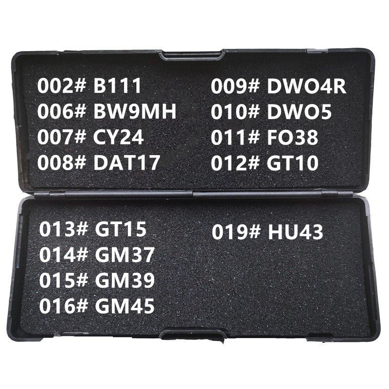 1 19 LiShi 2 в 1 B111 BW9MH CY24 DAT17 DWO4R DWO5 FO38 GT10 GT15 GM37 GM39 GM45 HU43 слесарный инструмент для всех типов|Ключ от авто|   | АлиЭкспресс