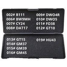 1 19 LiShi 2 w 1 B111 BW9MH CY24 DAT17 DWO4R DWO5 FO38 GT10 GT15 GM37 GM39 GM45 HU43 narzędzia ślusarskie dla wszystkich typów