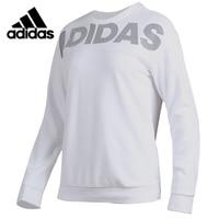Original Adidas CREW DN LINEAGE Womens Long Sleeves T shirt Polyester Sweatshirt