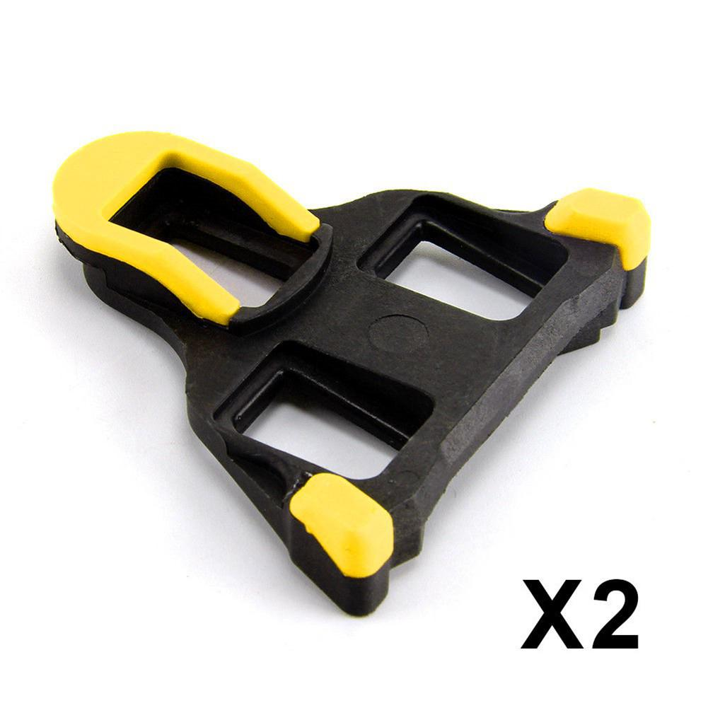 1Pair Universal Pedal Cleat Road Bike Self-locking Cycling Pedals Cleats for Shimano SH-11 SPD-SL Suitable for Most Cycling Shoe(China)