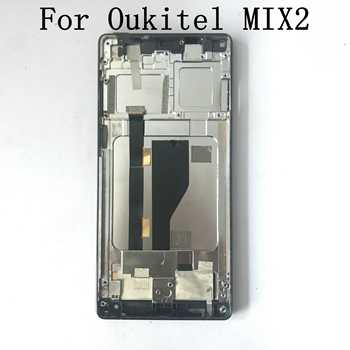 Oukitel MIX 2 Used LCD Display Screen + Touch Screen + Frame For Oukitel MIX 2 Repair Fixing Part Replacement