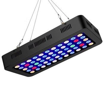 165w Led pour Aquarium éclairage Marine LED lumière corail Aquarium mer poissons récif réservoir lumières manuel gradation Uv & IR LEDs