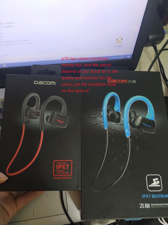 Image 5 - DACOM P10 sportowe słuchawki bluetooth IPX7 wodoodporne bezprzewodowe słuchawki Stereo zestaw słuchawkowy z mikrofonemSłuchawki douszne i nauszne BluetoothElektronika użytkowa -