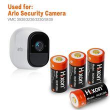 4 stücke UL & FCC Zertifiziert 700mAh RCR123A wiederaufladbare geschützt batterien für Netgear Arlo HD Kameras und Reolink Lithium  ionen