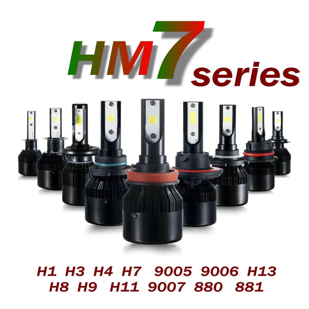 CSP H7 Avtomobil fənər dəsti 66W 6000Lm Avtomatik Ön İşıq H7 - Avtomobil işıqları - Fotoqrafiya 3