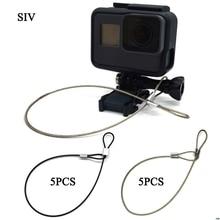 Ремешок SIV из нержавеющей стали для камеры GoPro, 30 см