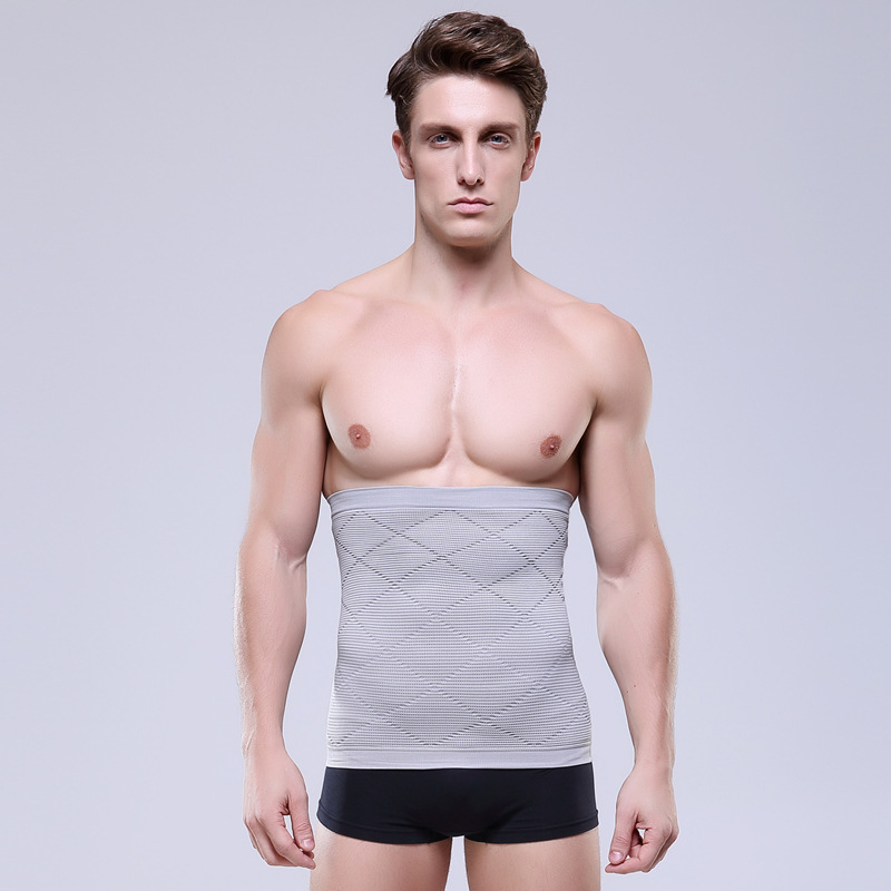 Men/women Breathable Waist Trainer GirdleFor Men Slimming Stomach Belt Control Belly Body Shaper Waist Cinchers Abdominal Girdle