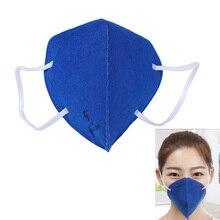 цена на 6pcs/Bag Anti Pollution PM2.5 Mouth Mask Dust Respirator Washable Reusable Mask Cotton Unisex Mouth Muffle Dust Mask