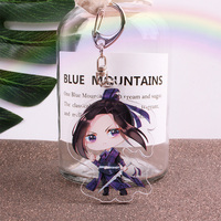Mo Dao Zu Shi Keychain Pendant Cosplay Prop Accessories Chen Qing Ling Keyring Comic Set Water Cup Postcard Sticker Poster Gift