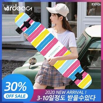ARDEA Skateboard MS400 107cm/42in Beginnner Russia Maple longboard Boy and Girl Long board  Teenager Dancing skate board