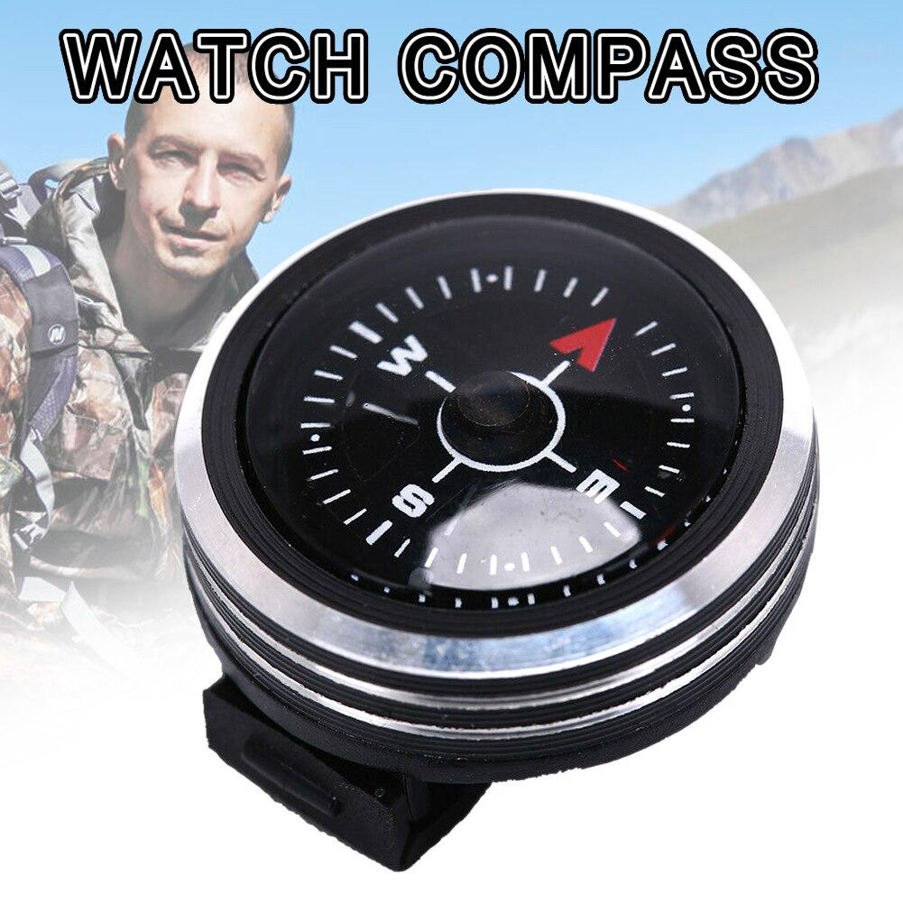 Напульсник компасы портативный съемный ремешок для часов навигация запястье для кемпинга на открытом воздухе WHShopping