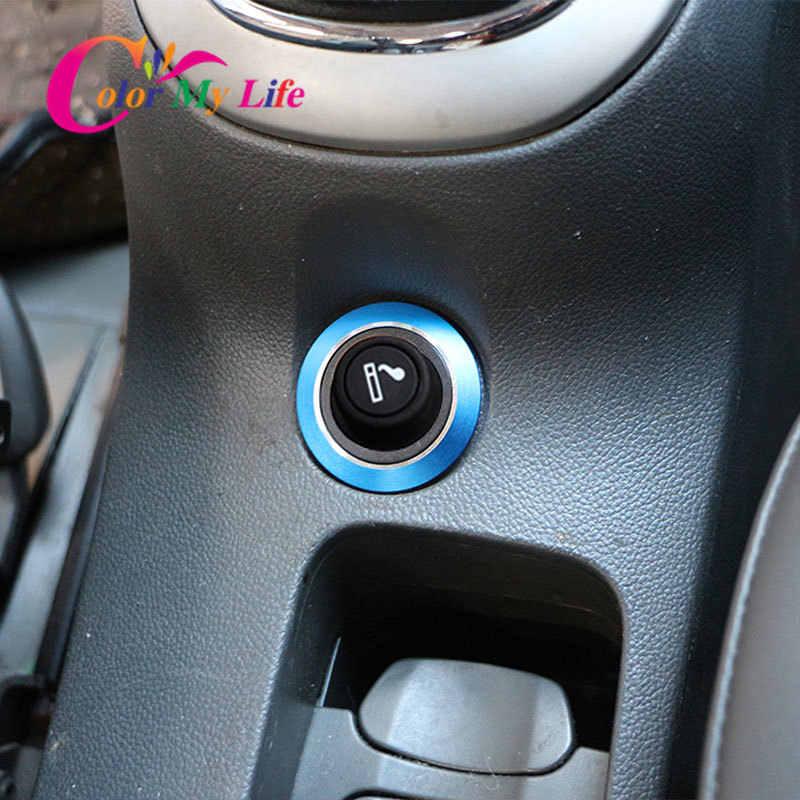 Voiture allume-cigare décoration cercle garniture autocollant pour Chevrolet Chevy Cruze berline Hatchback Malibu 2009-2015 accessoires