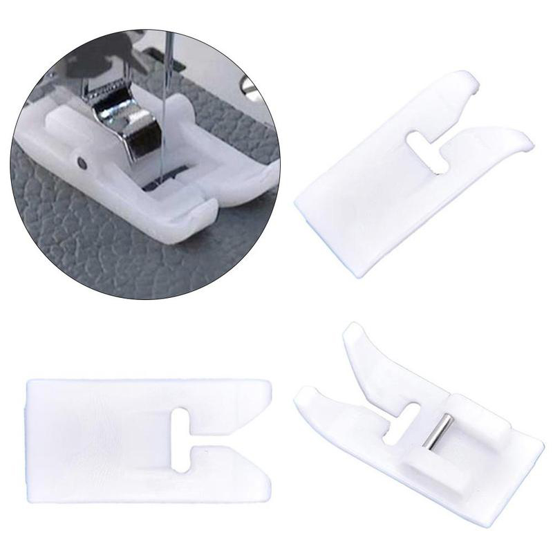 1PCS Sewing Machine Presser Foot Non stick Home Sewing Machine Part Presser Foot Domestic Leather Pesser Foot in Sewing Tools Accessory from Home Garden