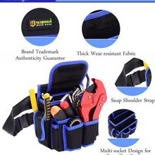 Pouch Bag Accessories Sturdy Multi-functional Thickened Canvas Bag Waterproof Oxford Fabric Electrician Tools Package bag