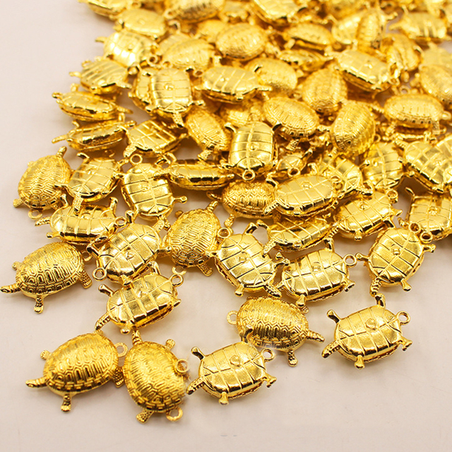 Feng Shui Golden Money Turtle Lucky Fortune Wealth  Home Office Decoration Tabletop Ornaments Lucky Gift 1