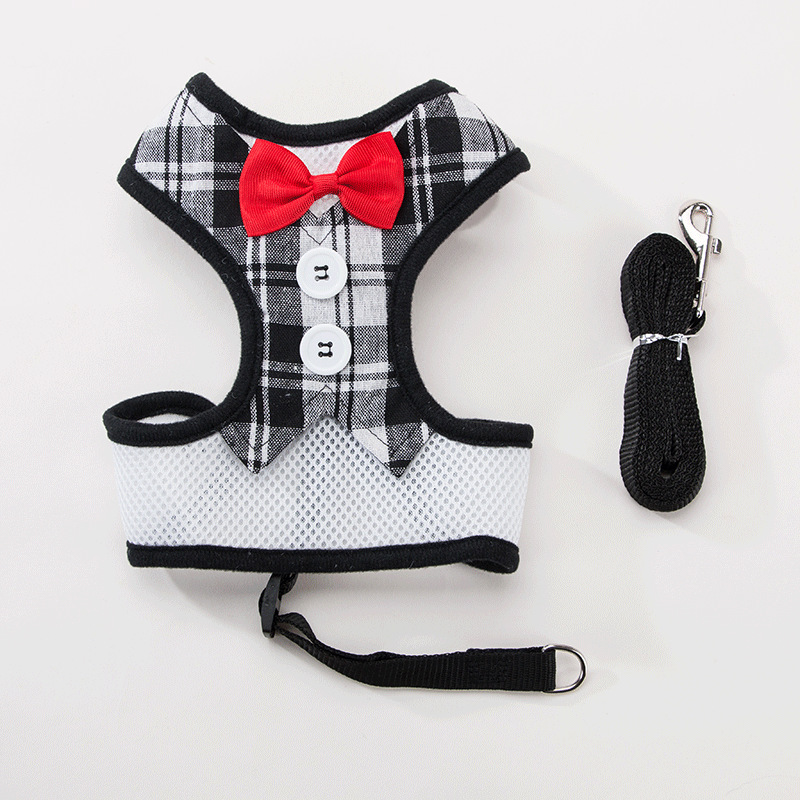 Dog Small Lanyard In Large Pomeranian Anti-Break Free Dog Vest Traction Poodle Unscalable Chest Universal Dog